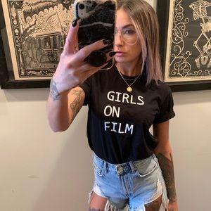 Girls On Film Tee